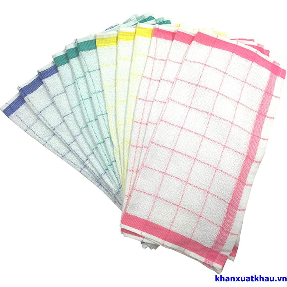 Kitchen towel - 格子キッチンタオル - khăn bếp lưới